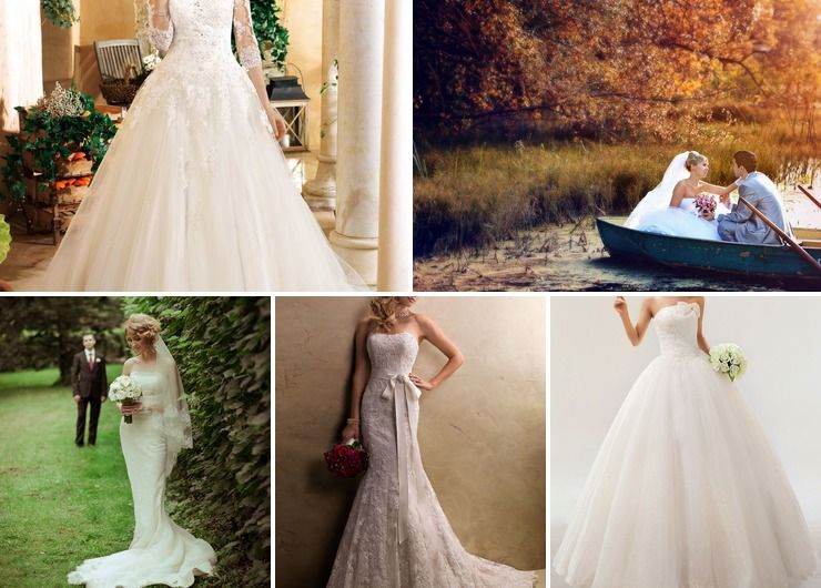 French autumn bridal style