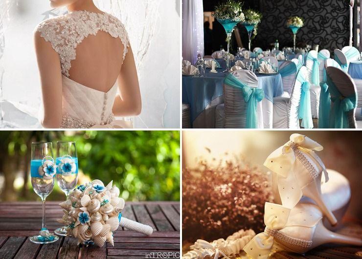 Wedding dresses Blue Vintage