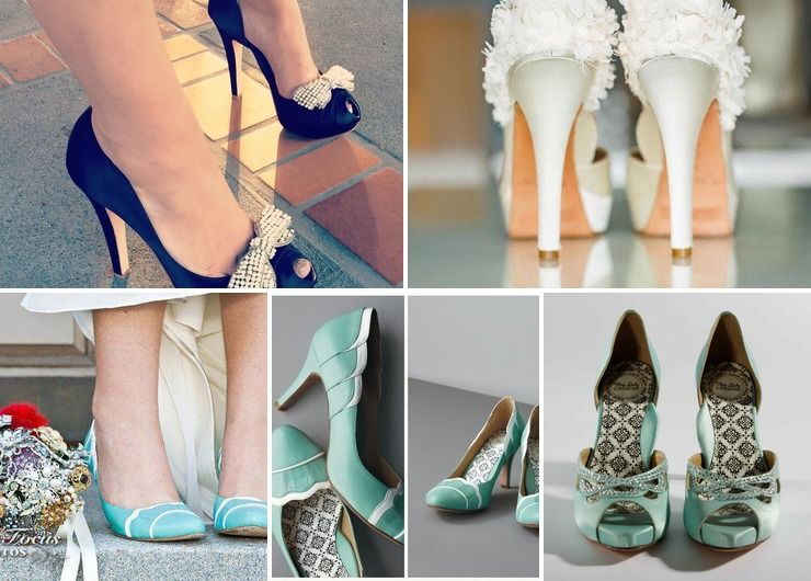 Vintage Chic with Modern Comfort wedding shoes