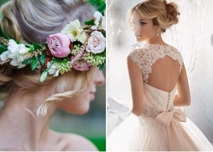 Wedding dresses Pink in My dream wedding dress lol