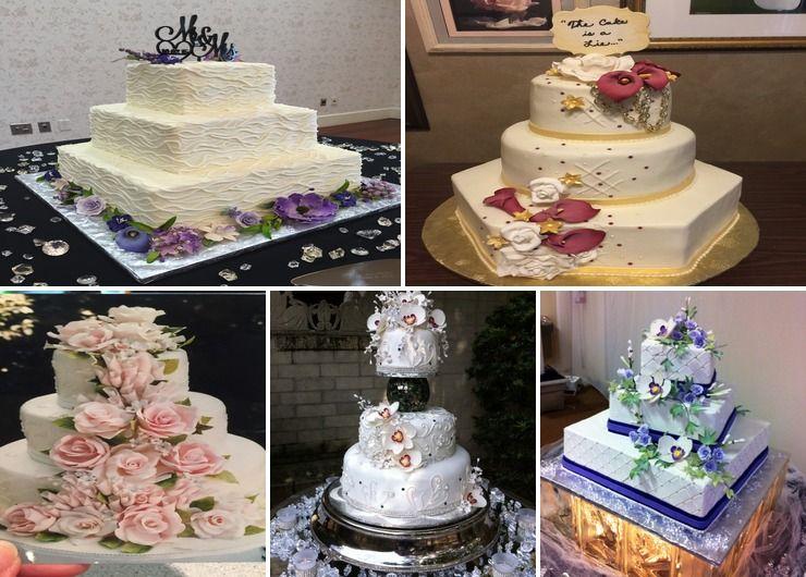Various weddings I've done.
