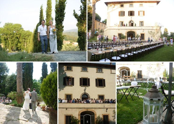 Wedding venues @ Villa il Castagno