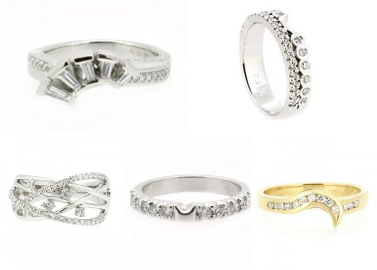 Fitted Ladies Wedding Rings