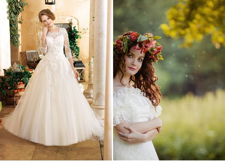 Wedding dresses Red in Summer Rustic