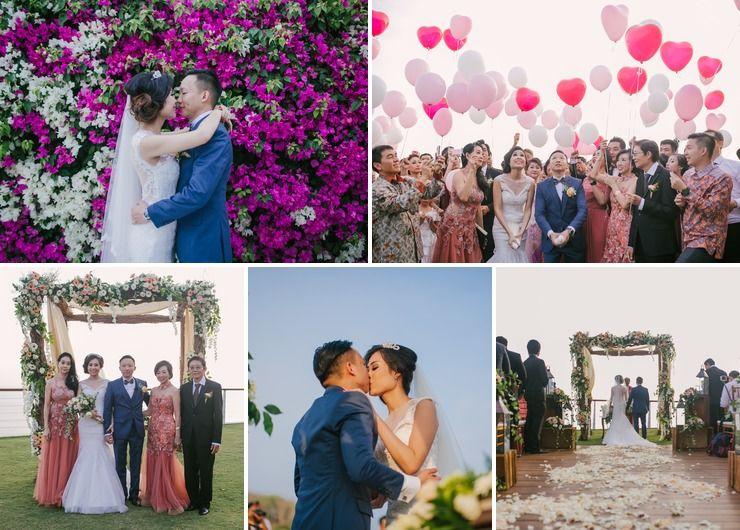 Budi & Nike wedding, The Edge Resort and Spa, Uluwatu, Bali