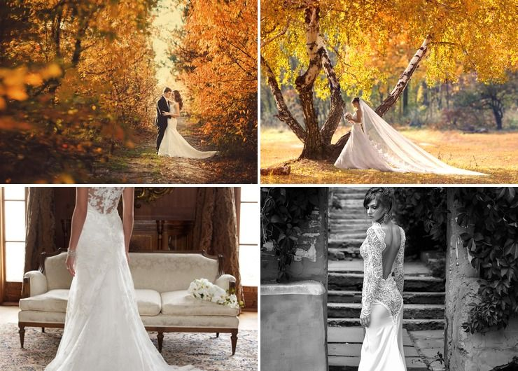 Bridal style in Autumn European