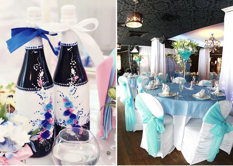 Wedding reception decor Pink American