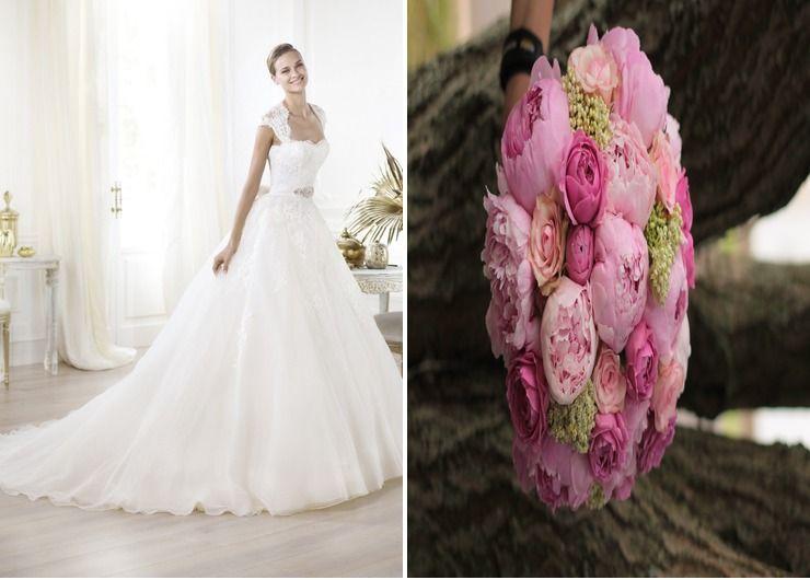 Wedding dresses Pink