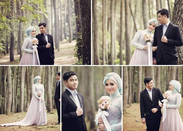 Annisa and Adimaz Pre-Wedding, Gerbera Flower