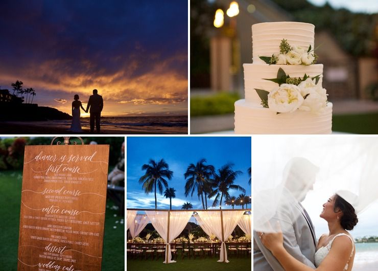 Vicky + Rodney's Four Seasons Maui Wedding