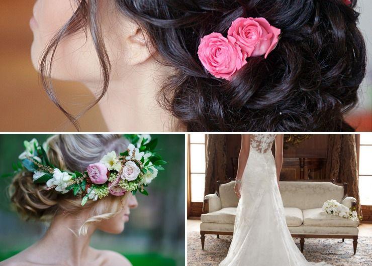 Mediterranean summer bridal style