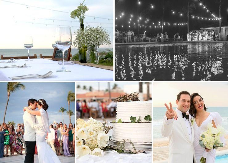 Mylene & JuanRo private beach wedding