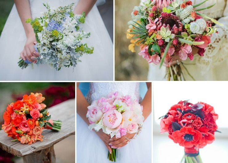 Bridal bouquet Pink in Summer Rustic