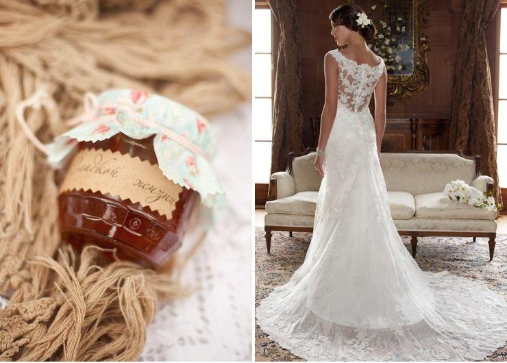 Rustic brown bridal style