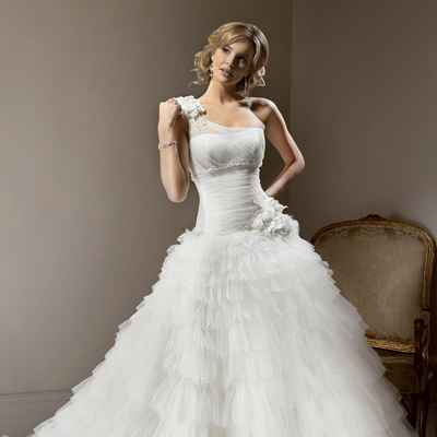 Open wedding dresses