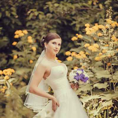 Summer corset wedding dresses