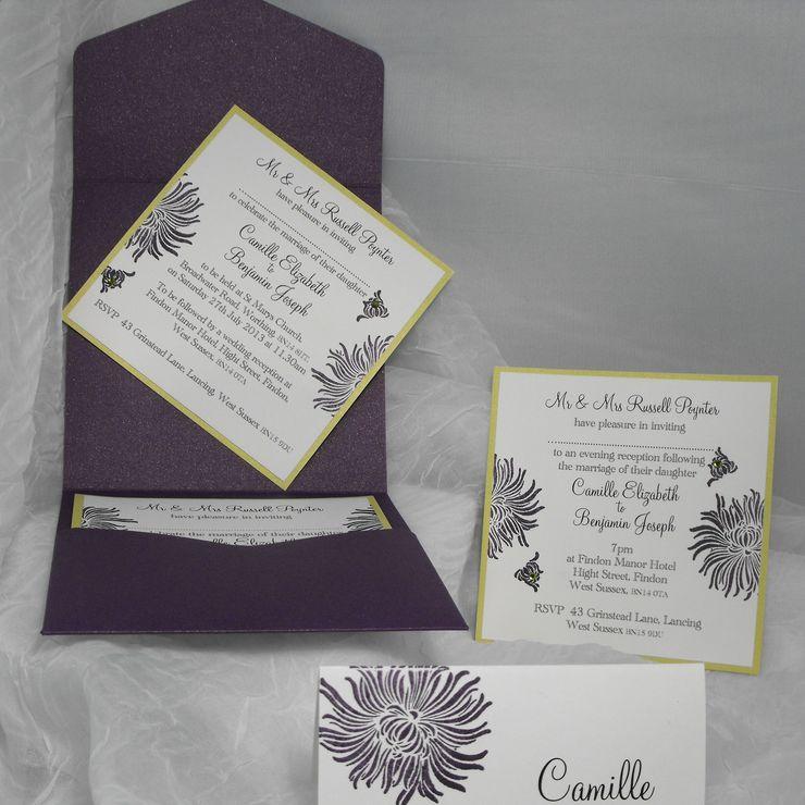 Lotus Camille Range lime & purple