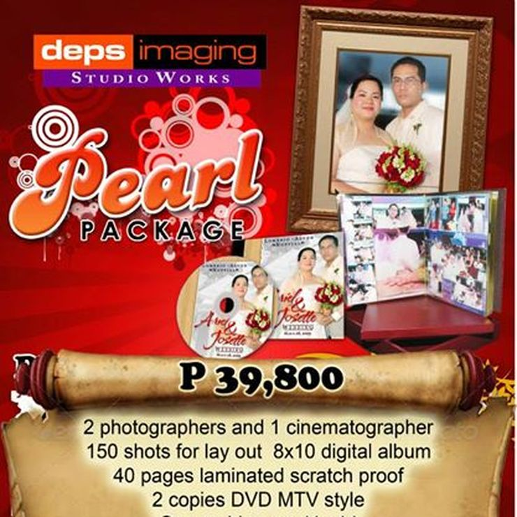 Pearl wedding package