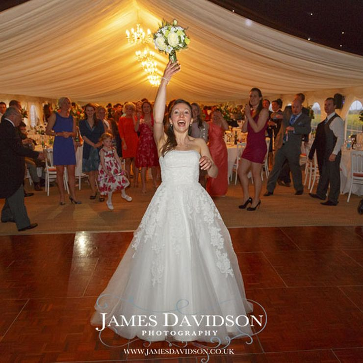 Marquee Hire for Suffolk Wedding (photos by James Davidson)