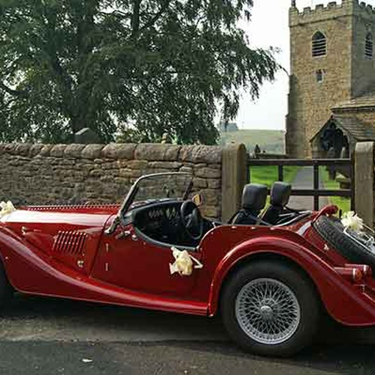 Morgan Wedding Car