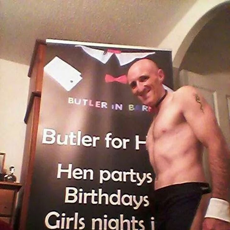 Butler for hen parties