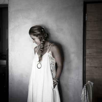 Rustic long wedding dresses