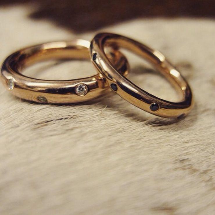 Black Gold Wedding ring