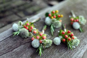 Wedding buttonhole