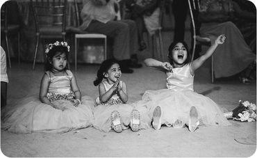 Kids at wedding