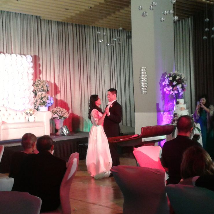 Wedding Reception @F1 Hotel The Fort 2015.