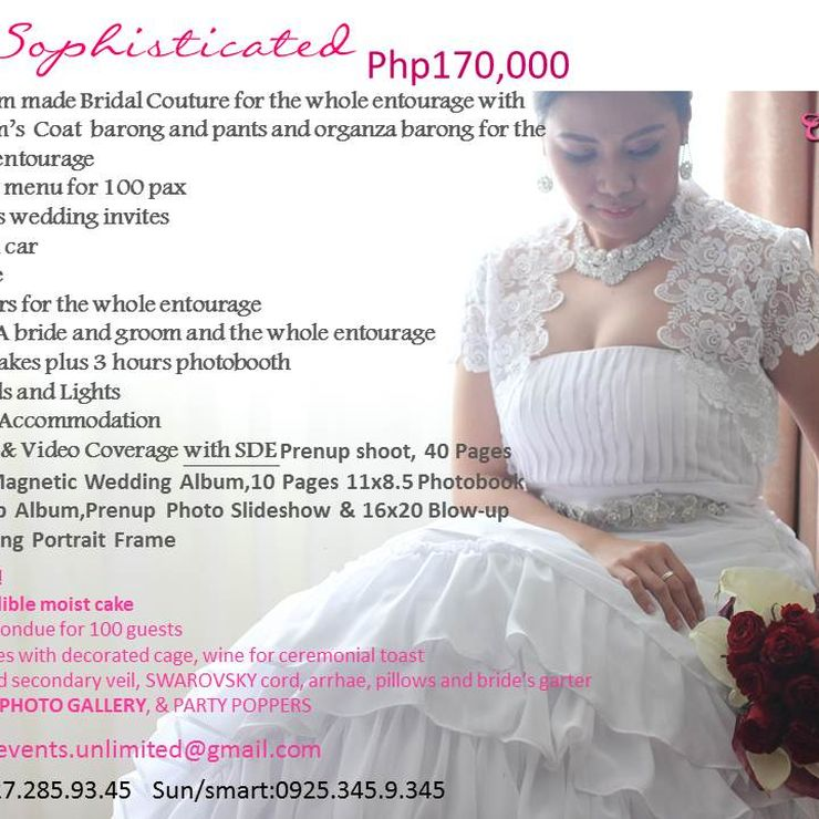 CHARMED EVENTS PACKAGES