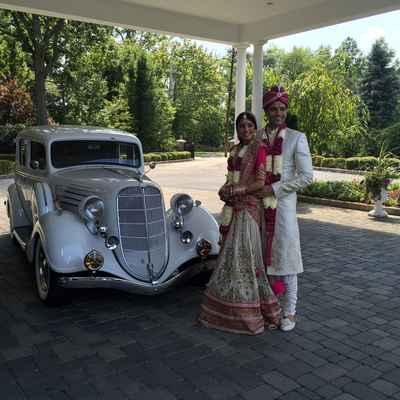 Themed wedding transport