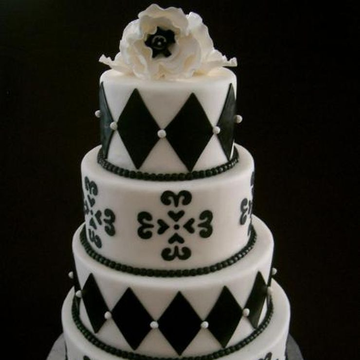 Tiffany's Wedding Cake