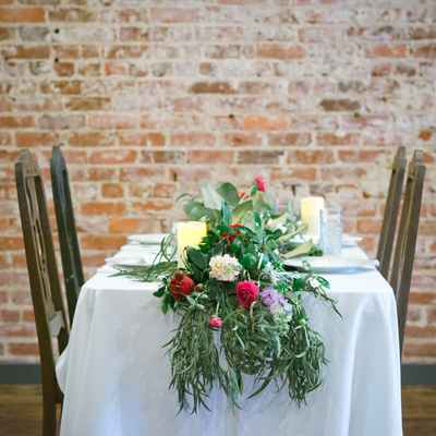 Wedding floral decor