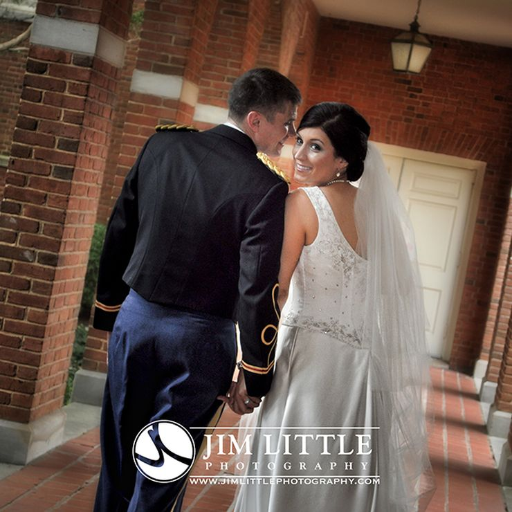 Kimberly and David's military wedding