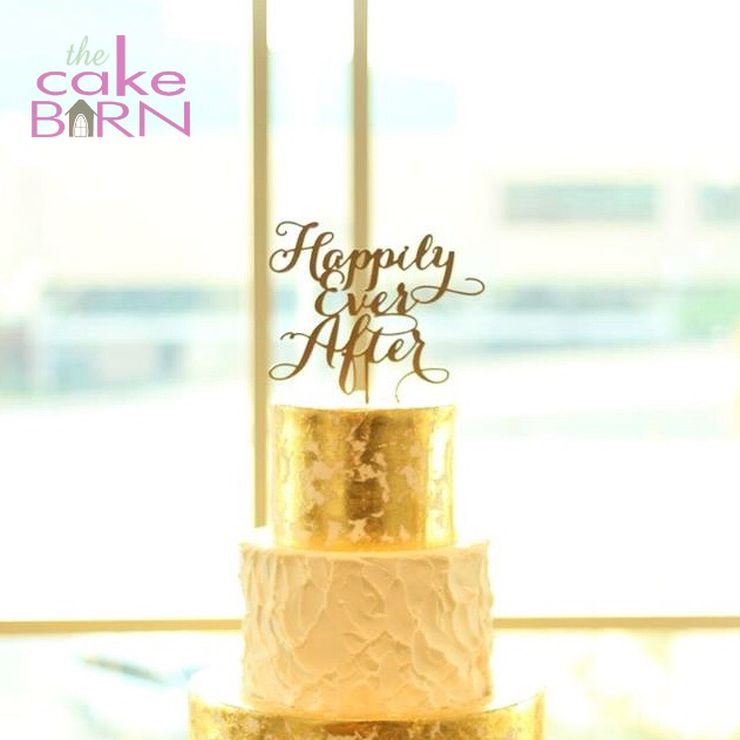 Gold Bliss Wedding cake