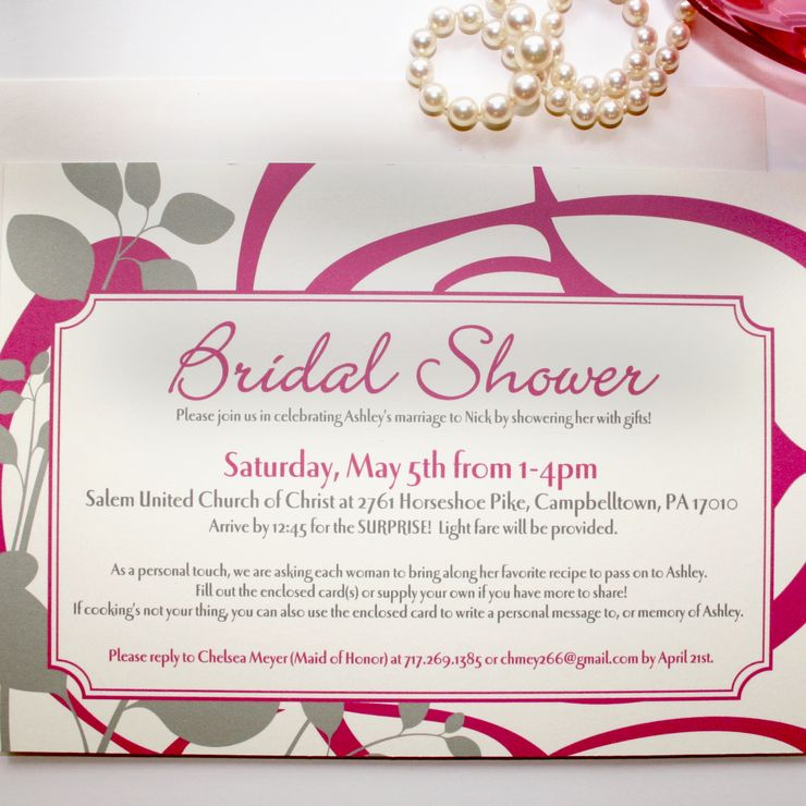 Spring and Summer Wedding Invitations