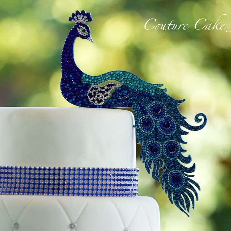 Cake Toppers in Custom Shapes