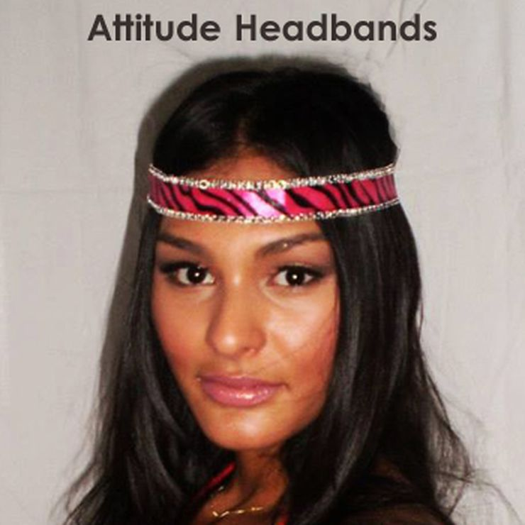 Attitude Headbands on etsy