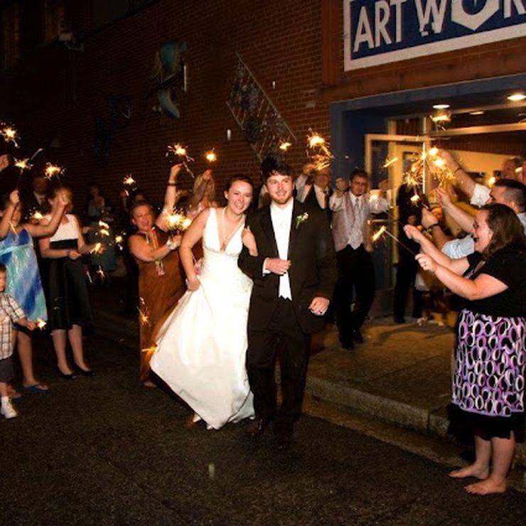 Brides at Art Works
