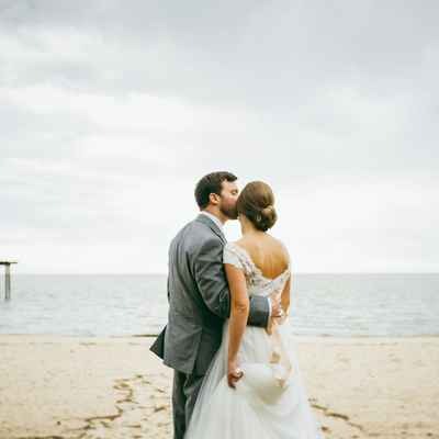 Marine wedding photo session ideas