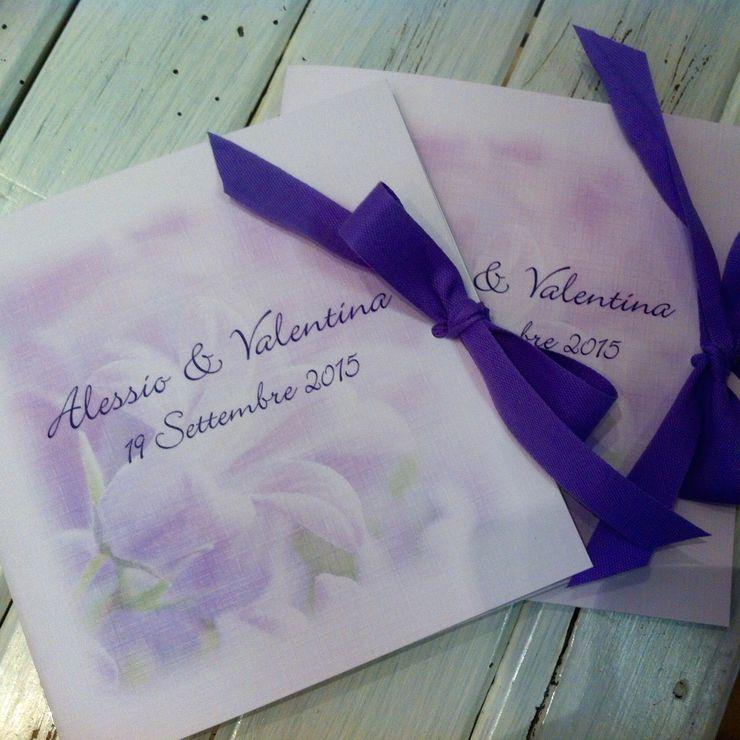Provence wedding violet