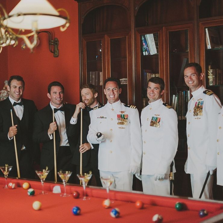 U.S. Navy : Commander's wedding - Lake Como Villa del Balbianello