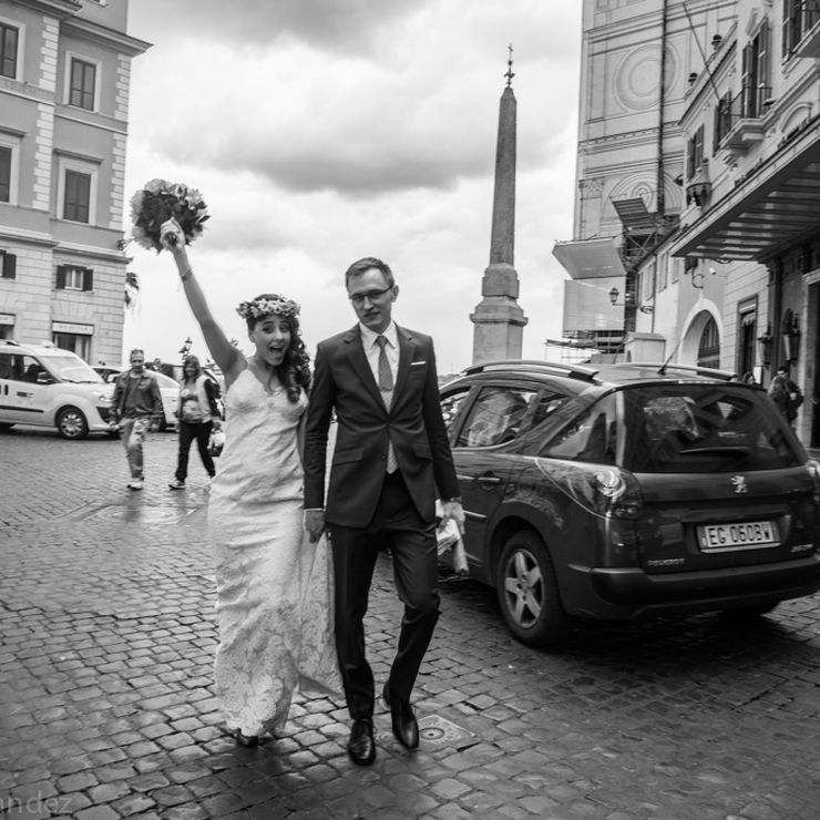 Alex & Frida - Destination Wedding in Rome - 2