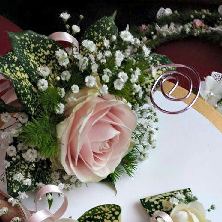 Bouquet and accessories