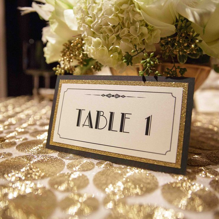 Gatsby Sweetheart table