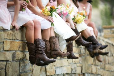 Outdoor brown wedding shoes