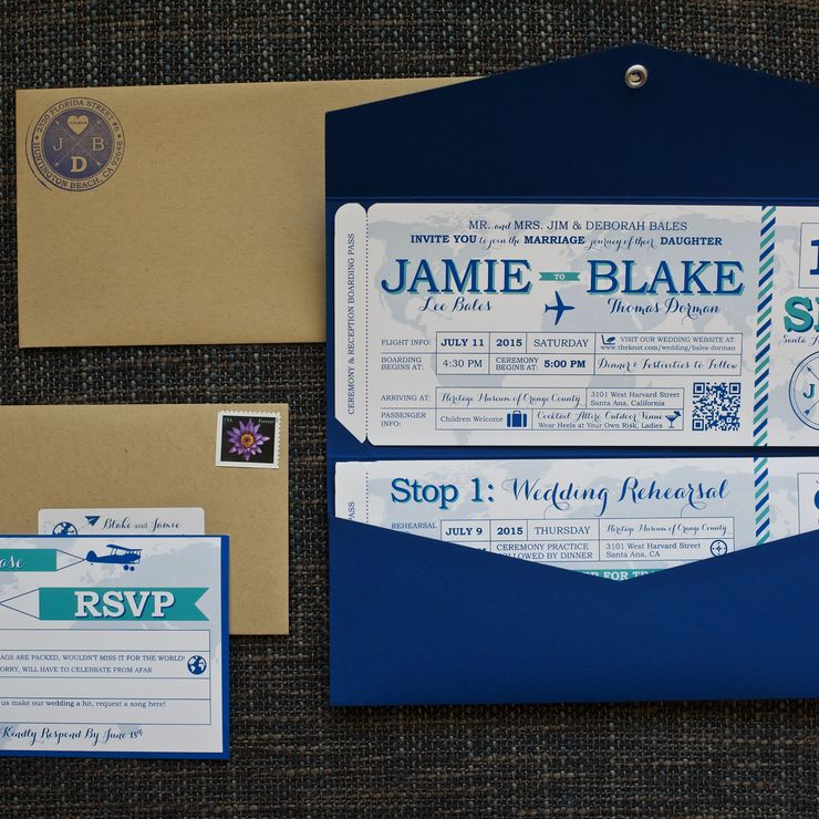 Blake & Jamie's Wedding Invitation