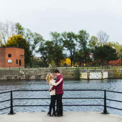 Outdoor autumn wedding photo session ideas