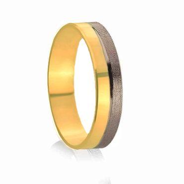 Brown wedding rings